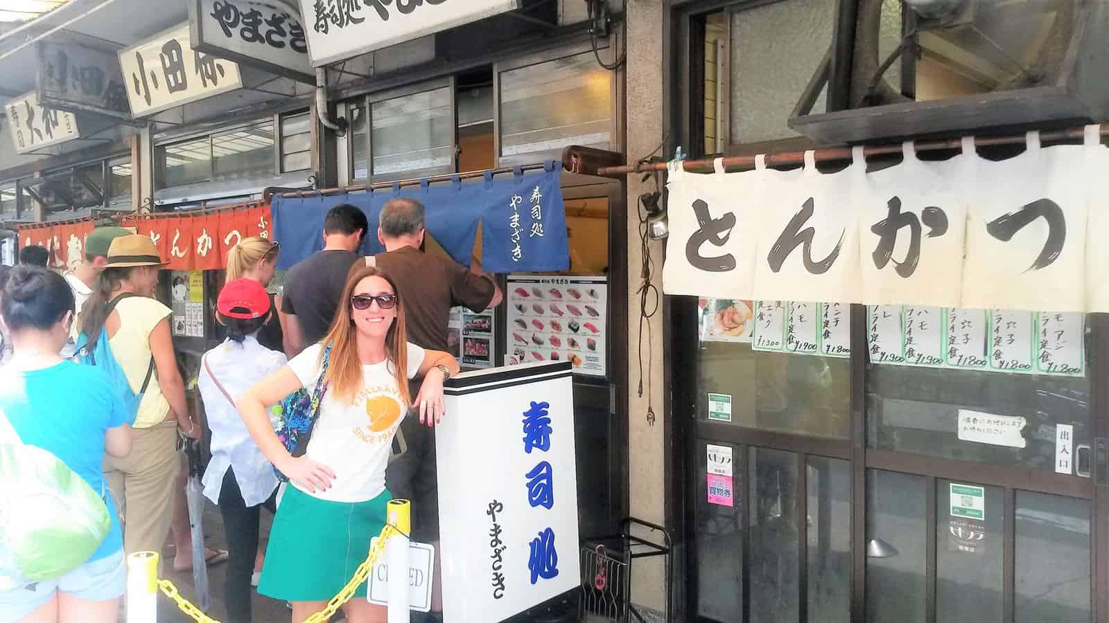 TOKIO: EL ANTIGUO MERCADO DE TSUKIJI