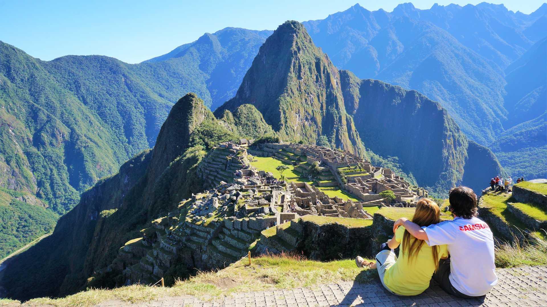 Camino Inca: llegada a Machu Picchu una de las 7 nuevas maravillas del mundo moderno.